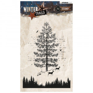 Stempel Clear, WINTER TRAILS, A6 / 105 x 148 mm, 2 - teilig, transparent 303