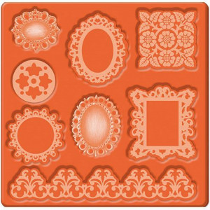 Mod Podge, Mod Mold Ornaments, 95 x 95 mm 8 Designs