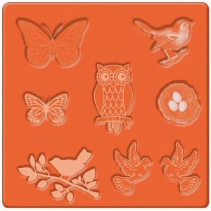 Mod Podge, Mod Mold Nature, 95 x 95 mm 8 Designs