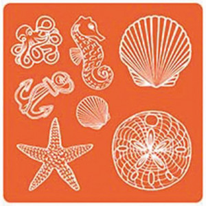 Mod Podge, Mod Mold Sea Life, 95 x 95 mm 7 Designs