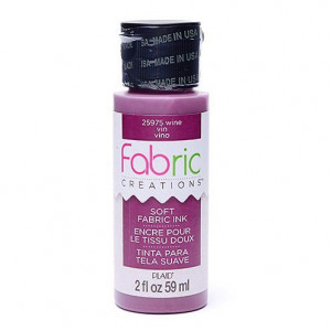 Fabric Creations™ Stempelfarbe, 59 ml, wine