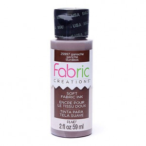 Fabric Creations™ Stempelfarbe, 59 ml, ganache