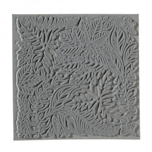 Texturmatte, Leaves, 90 x 90 mm, 1 Stk.